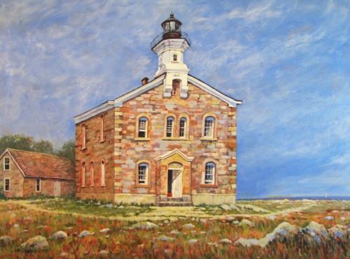 Norwalk Lighthouse,_edem
